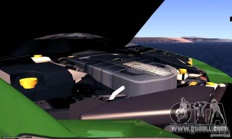Subaru Legacy 2004 v1.0 for GTA San Andreas inner view