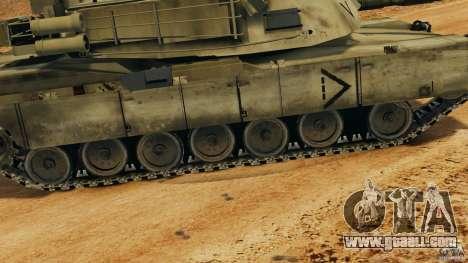 M1A2 Abrams for GTA 4 interior