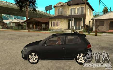 VW Golf 6 GTI for GTA San Andreas left view