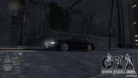 Mitsubishi Galant Stance for GTA 4 inner view