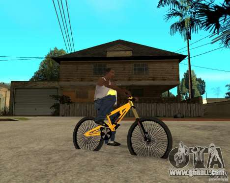 Nox Startrack DH 9.5 for GTA San Andreas right view