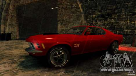 Ford Mustang BOSS 429 for GTA 4 back view