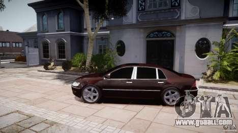 Volkswagen Phaeton W12 Long for GTA 4 back view