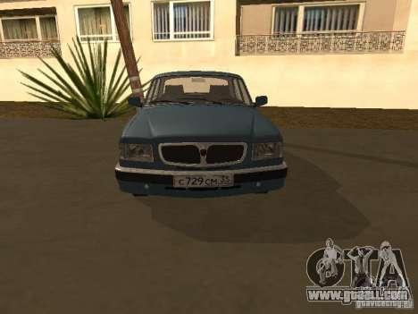 GAZ 3110 for GTA San Andreas right view