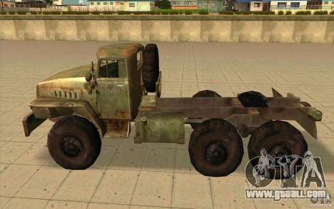 Ural-44202 for GTA San Andreas left view