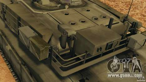 M1A2 Abrams for GTA 4 wheels