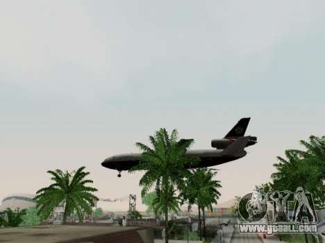McDonell Douglas DC-10-30 British Airways for GTA San Andreas inner view