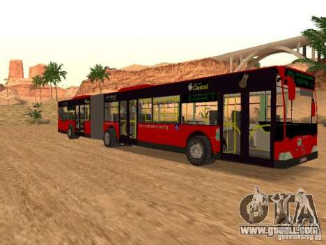 Mercedes-Benz Citaro G for GTA San Andreas right view