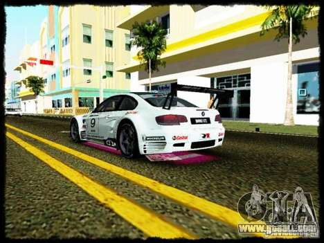 BMW M3 GT2 for GTA Vice City inner view