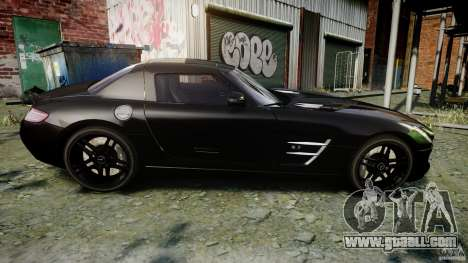 Mercedes-Benz SLS AMG 2010 [EPM] for GTA 4 side view