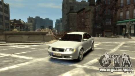 Audi RS6 2003 for GTA 4