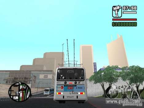 Marcopolo Torino GV Trolebus for GTA San Andreas right view