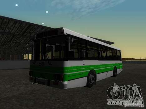 LAZ 42021 CWR for GTA San Andreas back view