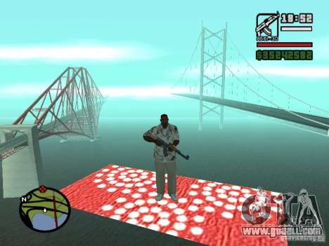 Flying Carpet for GTA San Andreas third screenshot