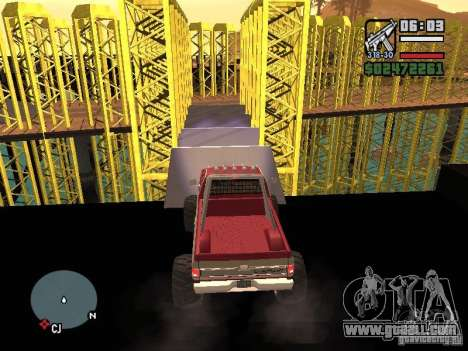 Monster tracks v1.0 for GTA San Andreas eighth screenshot