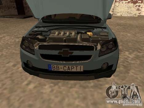 Chevrolet Captiva for GTA San Andreas right view