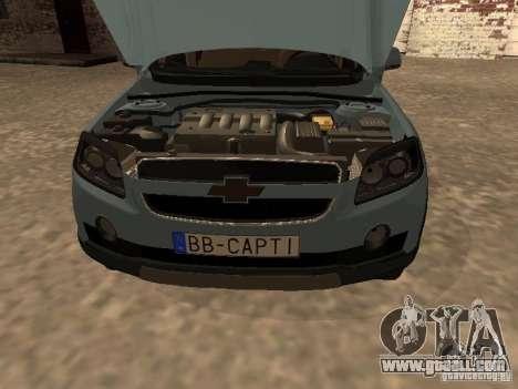 Chevrolet Captiva for GTA San Andreas right view