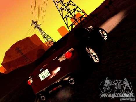 Subaru BRZ for GTA San Andreas back view