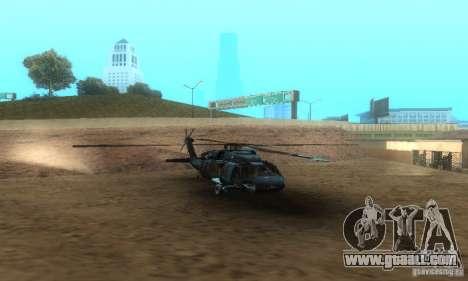 UH-60M Black Hawk for GTA San Andreas