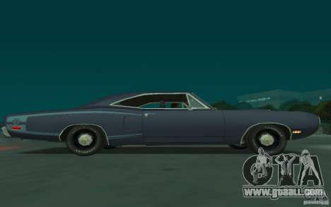 Dodge Coronet Super Bee 1970 for GTA San Andreas back view