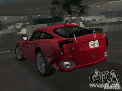 TVR Sagaris for GTA Vice City left view
