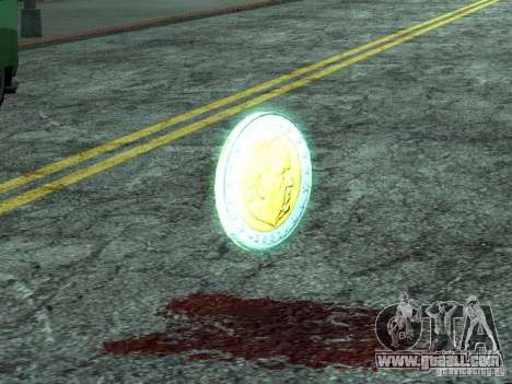 Euro-coins for GTA San Andreas second screenshot