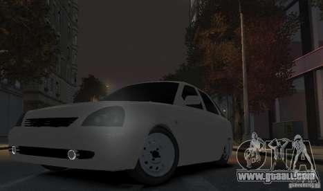 VAZ Lada Priora 2172 for GTA 4