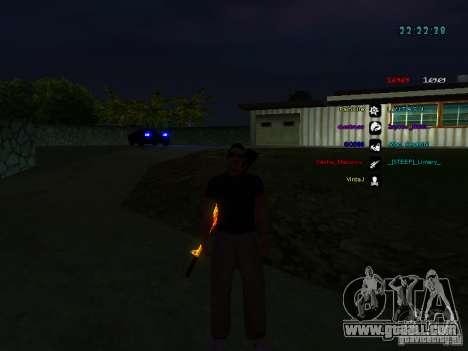 New skins La Coza Nostry for GTA: SA for GTA San Andreas fifth screenshot