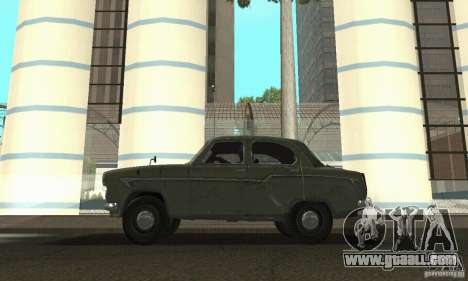 Moskvich 407 1958 for GTA San Andreas right view