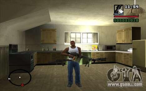 PKP Pecheneg Machine Gun for GTA San Andreas