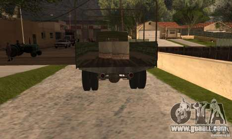 ZiS-5 for GTA San Andreas left view