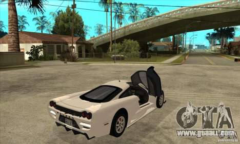 Saleen S7 Twin Turbo for GTA San Andreas right view