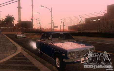 Datsun 510 4doors for GTA San Andreas