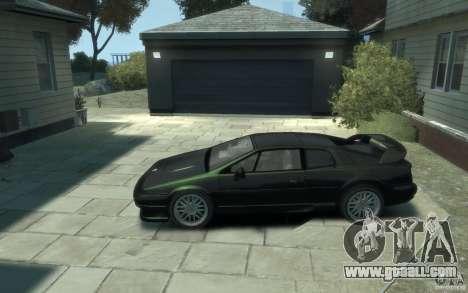 Lotus Esprit V8 for GTA 4 left view