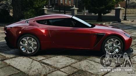 Aston Martin V12 Zagato 2011 v1.0 for GTA 4