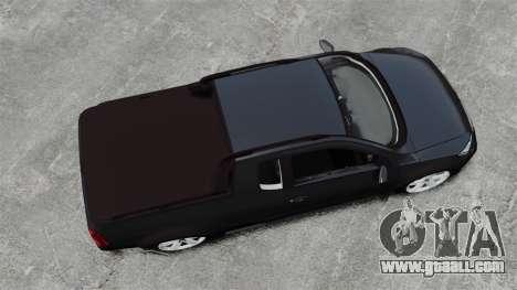Volkswagen Saveiro Cross Edit for GTA 4 right view