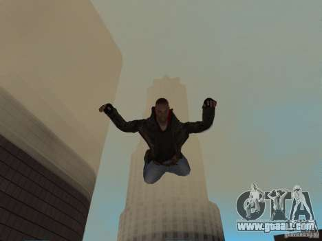 James Heller from Prototype 2 for GTA San Andreas fifth screenshot