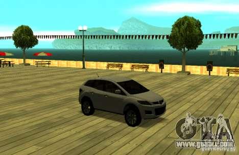 Mazda CX7 for GTA San Andreas back view