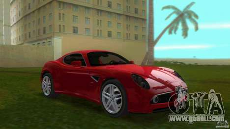 Alfa Romeo 8C for GTA Vice City