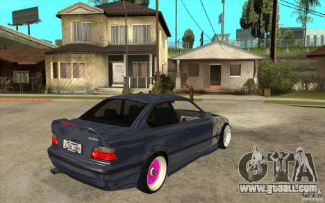 BMW E36 M3 Street Drift Edition for GTA San Andreas right view