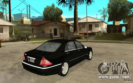 Mercedes-Benz S600 for GTA San Andreas right view