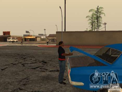 Open the trunk and hood manually for GTA San Andreas forth screenshot