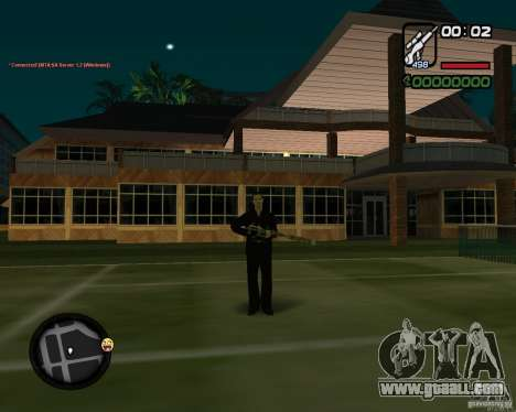 Sniper for GTA San Andreas third screenshot