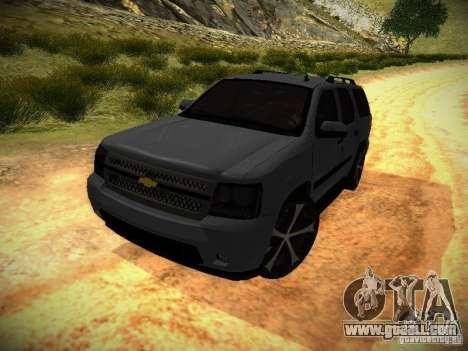 Chevrolet Tahoe HD Rimz for GTA San Andreas back left view