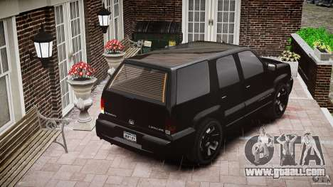 Cavalcade FBI car for GTA 4 side view