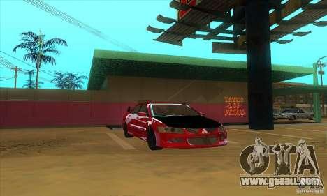 Mitsubishi Lancer Evolution IX Carbon V1.0 for GTA San Andreas