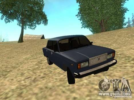 VAZ 2107 v1.1 for GTA San Andreas
