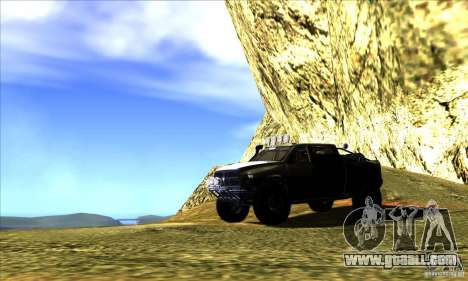 Dodge Ram All Terrain Carryer for GTA San Andreas upper view
