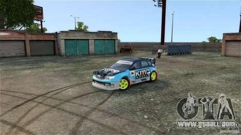 Subaru Impreza WRX STI Rallycross KMC Wheels for GTA 4