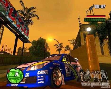 DiRT 2 Subaru Impreza WRX STi for GTA San Andreas left view